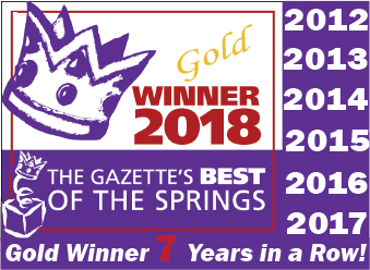 Best of the Springs award logo